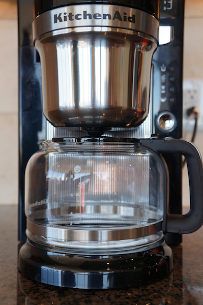 the kitchenaid brewer was one of the machines that utilized a preinfusion step