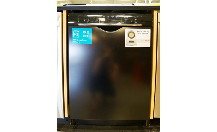An example of a tall tub built-in dishwasher from Bosch.