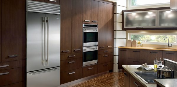 Built-in refrigerators offer a sleek, custom look to your kitchen.