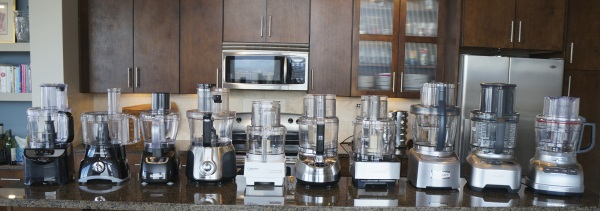 Testing 10 food processors in our kitchen!