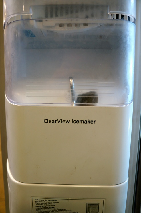 We love a factory-installed automatic icemaker in our freezer especially if it comes with a built-in water filter.