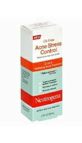 Neutrogena Oil-Free Acne Stress Control 3-In-1 Hydrating Acne Treatment