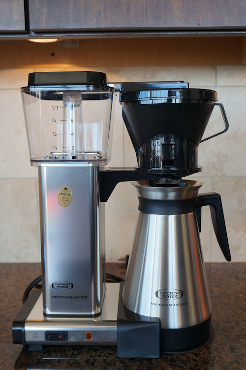 The Technivorm Moccamaster KBGT 741 is a high quality automatic coffee maker that is handmade in Holland.