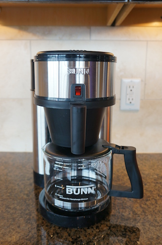 Bunn 10 cup velocity brew nhs review for Bunn velocity coffee maker