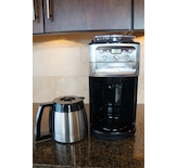 Getting the Cuisinart Burr Grind & Brew Thermal Coffeemaker set up.