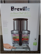 Unpacking the Breville Sous Chef.