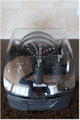 Blade storage for the Breville.