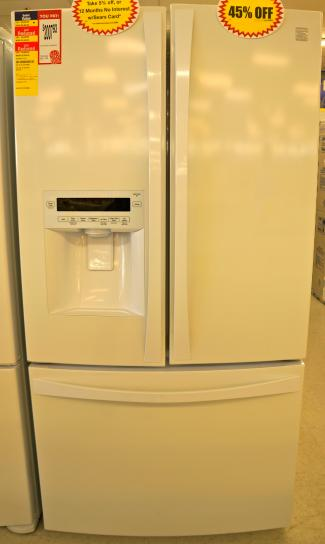 The Kenmore Elite 31.0 Cu. Ft. French Door Bottom Freezer Refrigerator 72052