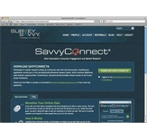 You can download the SavvyConnect® app from the members' area of SurveySavvy.com.