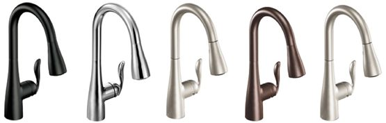 The available finishes include Matte Black, Chrome, Classic Stainless and Oil Rubbed Bronze and Spot Resist™ Stainless.