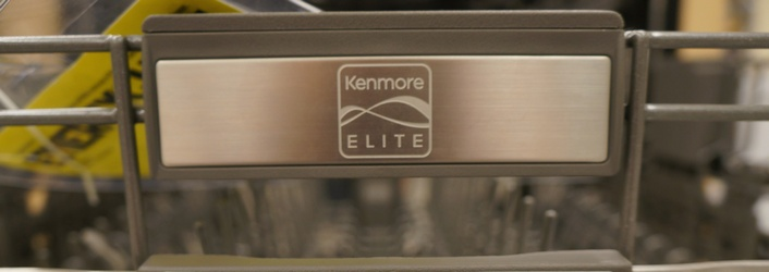 As a brand, Kenmore Elite scored the highest in overall customer satisfaction in a 2013 J.D. Power & Associates dishwasher study.