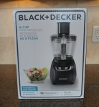 Unpacking the Black & Decker 8 Cup Food Processor FP1600B.