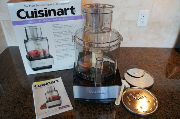 The Cuisinart Custom 14 Food Processor