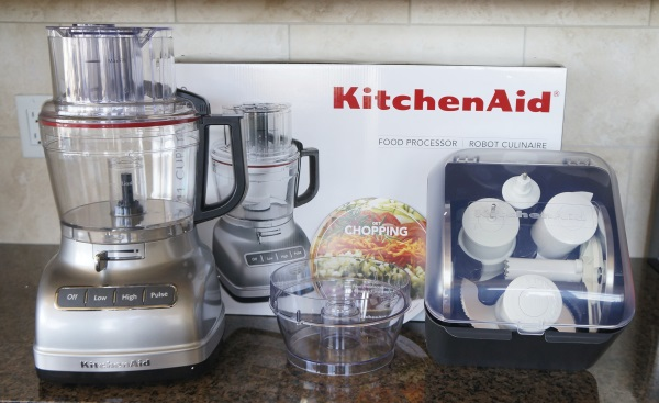 The KitchenAid 11 Cup Food Processor.