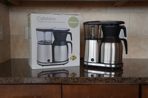 The Bonavita BV1900TS is an SCAA certified home brewer.