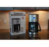 The Cuisinart Programmable Coffeemaker offers an impressive 14-cup carafe.