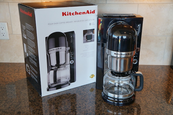 the kitchenaid pour over coffee maker is an scaa certified home brewer