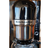 We liked the look of the KitchenAid on our counter.