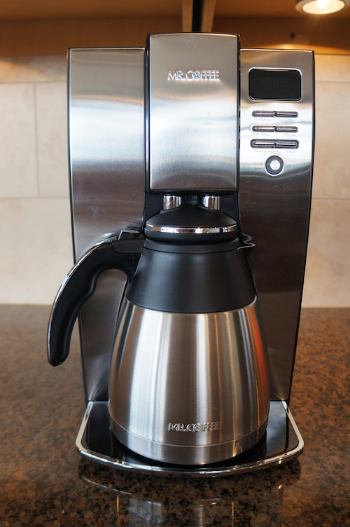 we liked the compact design of the mr coffee optimal brew