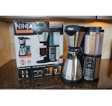 The Ninja© Coffee Bar™ offers a variety of strength and size options.