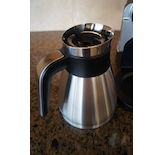 The Ninja© Coffee Bar™ features a stainless steel thermal carafe.