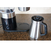 The OXO features a thermal carafe system with brew-through lid and internal mixing tube.