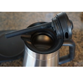 The OXO utilizes an internal mixing tube to assure a uniform coffee flavor.
